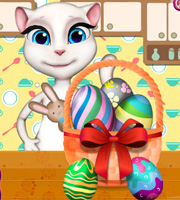 Angela Easter Decor