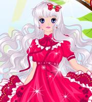 Anime Cute Summer Princess