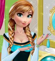 Anna's Frozen Manicure