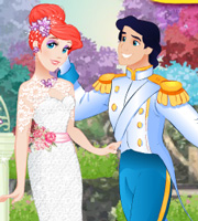 Ariel Wedding Day