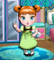 Baby anna room decoration for Baby room decoration games online