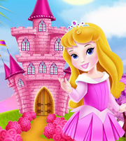 Baby Aurora Castle Decoration