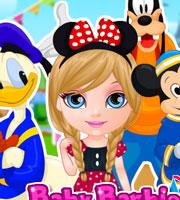 Baby Barbie Goes to Disneyland