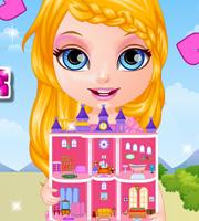 Baby Barbie Princess Dollhouse