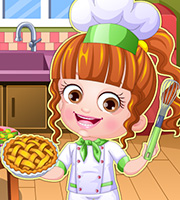 Baby Hazel Chef Dress Up
