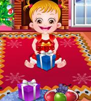 Baby Hazel Christmas Time 2