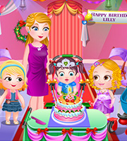 Baby Hazel Fashion Party