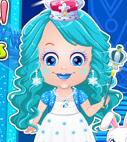Baby Hazel Ice Princess Dress Up - AgnesGames.com
