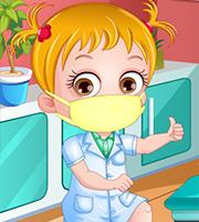 Baby Hazel Physiotherapist Dressup