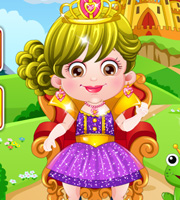 Baby Hazel Royal Princess Dressup