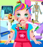 Baby Juliet Bee Allergy