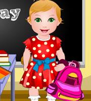 Baby Juliet School Day