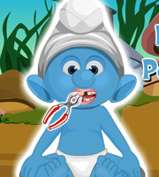 Baby Smurf Perfect Teeth