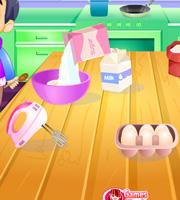 Baking Super Cupcake