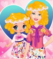 Barbie and Daughter Fashionista