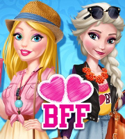 Barbie And Elsa Bffs