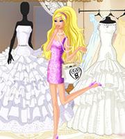Barbie at Bridal Boutique
