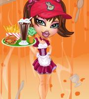 Bratz Waitress Dress Up