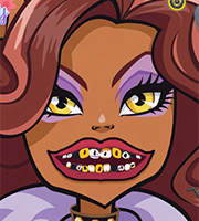 Clawdeen Wolf Dental Check