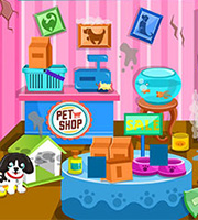 Clean Up Pet Shop
