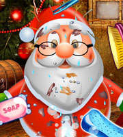 Clean Up Santa