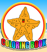 Coloring Book Sea Animals