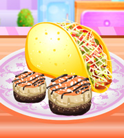 Cooking Mini Tortilla Taco