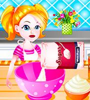Cooking Peaches Cream Pie