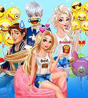 Couples Emojis Party