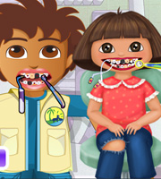 Dora And Diego At The Dentist