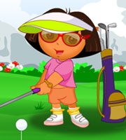Dora Golf Dress Up
