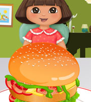 Dora Mcdonald's Hamburger