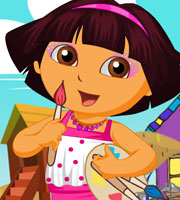 Dora School Girl Dress Up