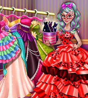 Dove Carnival Dolly Dress up H5