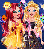 Ellie and Mermaid Princess Galaxy Fashionistas