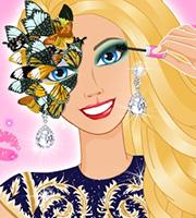 Ellie's Glam Ball Makeup