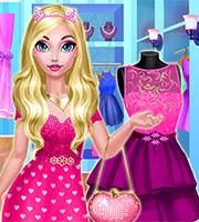 Ellie's Pink Dress