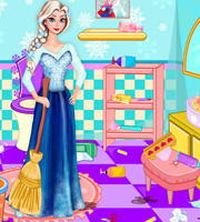 Elsa Bathroom Cleaning