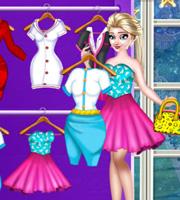 Elsa Closet Dressup