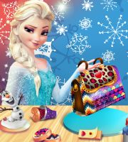 Elsa DIY Dream Purse