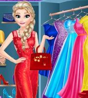 Elsa Dress Up Room
