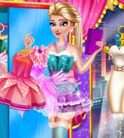 Elsa Fairy Party Dress up