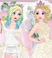 Elsa Good vs. Naughty Bride