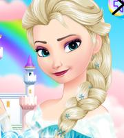 Elsa's Candy Makeup