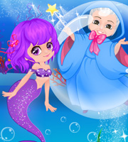 Fairytale Doctor Baby Mermaid