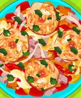 Fried Veg Chicken Salad