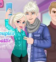Frozen Couples Selfie Battle