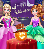 Frozen Halloween Party
