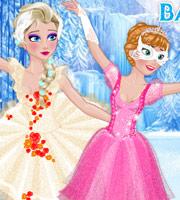Frozen Sisters Ballerinas