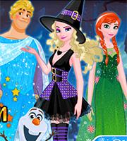 Frozen Team Halloween H5